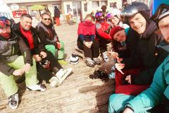 Skiweekend Pause